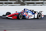 Verizon IndyCar Series driver Conor Daly (4) in action during the RainGuard 600 race at Texas Motor Speedway in Fort Worth,Texas.