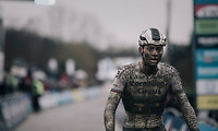 Mathieu van der Poel (NED/Corendon-Circus) winning his 22nd of the season; the first one on his new bike.<br /> <br /> Elite Men's race<br /> GP Sven Nys / Belgium 2018