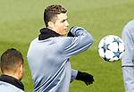 Real Madrid's Cristiano Ronaldo during training session. February 14,2017.(ALTERPHOTOS/Acero)