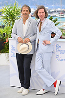 CANNES, FRANCE. July 13, 2021: Alexandre Desplat & Wes Anderson at the photocall for Wes Anderson's The French Despatch at the 74th Festival de Cannes.<br /> Picture: Paul Smith / Featureflash