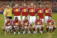 New York Red Bulls starting 11 lineup. DC United defeated the New York Red Bulls 4-3. DC United earned a top seed in the 2006 MLS Playoffs and will enjoy home field advantage for the entire Eastern Conference Playoffs. Saturday, September 23, 2006, at RFK Stadium.