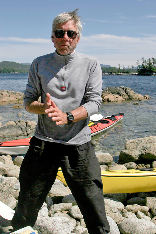 British Columbia, Canada, Author Peter Potterfield, kayaking British Columbia's Kitasoo/Xaixais First Nation territory. Laredo Sound, Inside Passage, North Coast, released,.