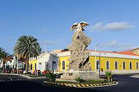 Denkmal Aguia und Afandega Velha in Mindelo, Sao Vicente, Kapverden, Afrika