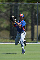 New York Mets Patrick Biondi (4) during practice before a minor league spring training game against the Miami Marlins on March 30, 2015 at the Roger Dean Complex in Jupiter, Florida.  (Mike Janes/Four Seam Images)