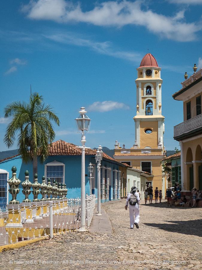 Church in Placa Mayor, Trinidad