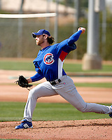Neal Cotts - Chicago Cubs - 2009 spring training.Photo by:  Bill Mitchell/Four Seam Images