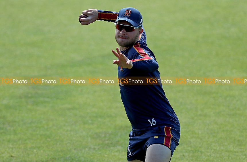 Sam Cook of Essex warms up prior to Essex CCC vs Nottinghamshire CCC, LV Insurance County Championship Group 1 Cricket at The Cloudfm County Ground on 5th June 2021