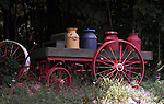Wagon with milk cans New England States six-state region Connecticut Massachusetts Rhode Island thriving tourist industry, Fine Art Photography by Ron Bennett, Fine Art, Fine Art photography, Art Photography, Copyright RonBennettPhotography.com © Fine Art Photography by Ron Bennett, Fine Art, Fine Art photography, Art Photography, Copyright RonBennettPhotography.com ©