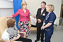 16/08/2010   Copyright  Pic : James Stewart.002_fvrh_nicola_sturgeon  .::  NHS FORTH VALLEY ROYAL HOSPITAL, LARBERT :: NHS FORTH VALLEY CHAIRMAN IAN MULLEN AND SENIOR CHARGE NURSE BARBARA ANN NIVEN INTRODUCE SCOTTISH CABINET SECRETARY FOR HEALTH & WELLBEING TO PATIENT IRENE ASHBY FROM LARBERT ::