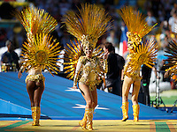 Performers during the closing ceremony