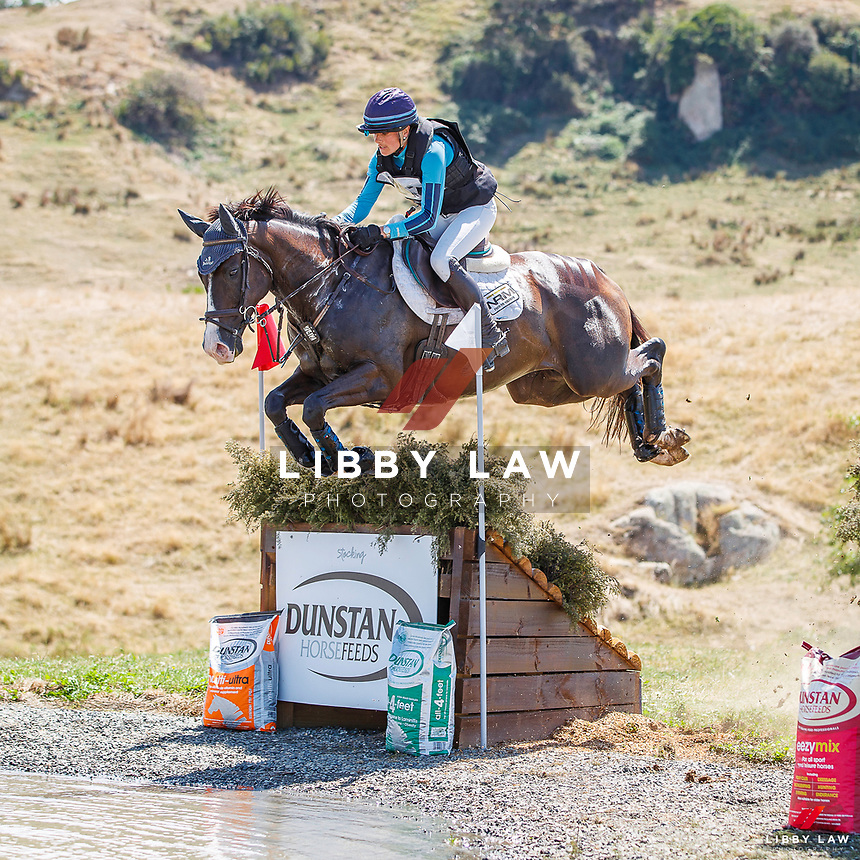 NZL-Amanda Pottinger rides Good Timing. Dunstan Horse Feeds CCI3*-S. 2021 NZL-RANDLAB Matamata Horse Trial. Sunday 21 February. Copyright Photo: Libby Law Photography.