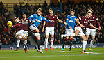 Joe Garner with Callum Paterson and Don Cowie
