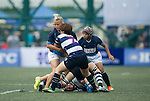 Football Club ICE VS Laos Nagas GFI HKFC Rugby Tens 2016 on 07 April 2016 at Hong Kong Football Club in Hong Kong, China. Photo by Juan Manuel Serrano / Power Sport Images