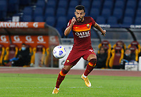 Roma s Pedro in action during the Serie A soccer match between Roma and Benevento at Rome's Olympic Stadium, October 18, 2020.<br /> UPDATE IMAGES PRESS/Riccardo De Luca