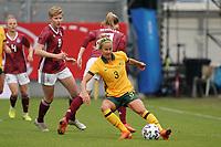 Alvi Luik (Australien, Australia) - 10.04.2021 Wiesbaden: Deutschland vs. Australien, BRITA Arena, Frauen, Freundschaftsspiel