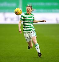 21st April 2021; Celtic Park, Glasgow, Scotland; Scottish Womens Premier League, Celtic versus Rangers; Rachel Donaldson of Celtic Women on the ball