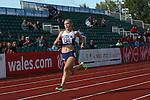 IPC European Athletics Championship 2014<br /> Erin McBride (GBR) Women's 400m T13.<br /> Swansea University<br /> 19.08.14<br /> ©Steve Pope-SPORTINGWALES