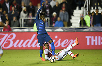 Cary, N.C. - Tuesday March 27, 2018: Timothy Weah during an International friendly game between the men's national teams of the United States (USA) and Paraguay (PAR) at Sahlen's Stadium at WakeMed Soccer Park.