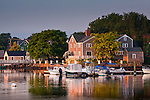 The waterfront of Portsmouth, Seacoast Region, NH