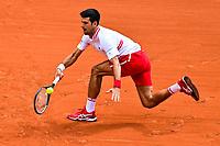 5th June 2021; Roland Garros, Paris France; French Open tennis championships day 9;  Novak Djokovic (Srb)