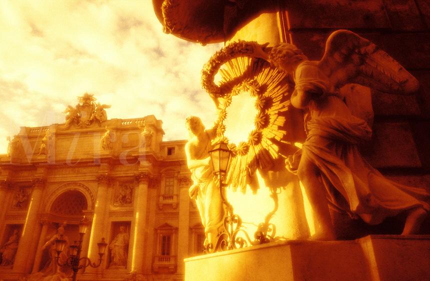 Italy,Rome,The Trevi Fountain