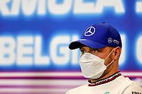 26th August 2021; Spa Francorchamps, Stavelot, Belgium: FIA F1 Grand Prix of Belgium, driver arrival day:  77 Valtteri Bottas FIN, Mercedes-AMG Petronas F1 Team