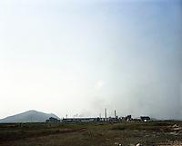 A steel plant in Kalinganagar industrial area in Orissa.