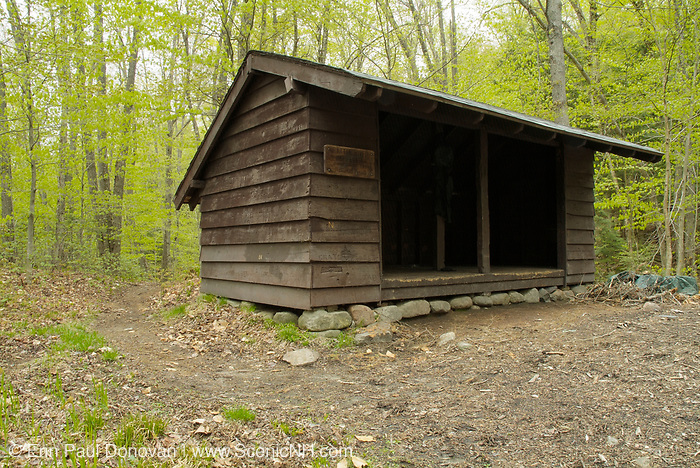 Appalachian Trail - Rattle River Shelter is an Adirondack style shelter located along the Rattle River Trail (AT) in the White Mountains, New Hampshire USA.