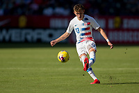 CARSON, CA - FEBRUARY 1: Sam Vines #13 of the United States of the United States passes off a ball during a game between Costa Rica and USMNT at Dignity Health Sports Park on February 1, 2020 in Carson, California.
