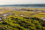 Aerial View of Portland International Airport (PDX), Portland, Oregon