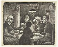 De aardappeleters, Vincent van Gogh, 1885