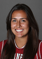 STANFORD, CA - OCTOBER 29:  Jackie Candelaria of the Stanford Cardinal women's lacrosse team poses for a headshot on October 29, 2009 in Stanford, California.