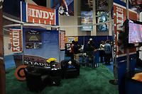 Stand des Host Committee des Super Bowl XLVI in Indianapolis<br /> Vorstellung Logo Super Bowl XLV, Super Bowl XLIV Pressekonferenzen *** Local Caption *** Foto ist honorarpflichtig! zzgl. gesetzl. MwSt. Auf Anfrage in hoeherer Qualitaet/Aufloesung. Belegexemplar an: Marc Schueler, Alte Weinstrasse 1, 61352 Bad Homburg, Tel. +49 (0) 151 11 65 49 88, www.gameday-mediaservices.de. Email: marc.schueler@gameday-mediaservices.de, Bankverbindung: Volksbank Bergstrasse, Kto.: 52137306, BLZ: 50890000