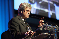 Laval (QC) Canada) , March 29,2007<br /> <br /> Dr  Michel G Bergeron recipient of the BIOTECHNOLOGYIE AWARD OF TOMORROW<br />  at Genesis Gala  after BIOMEDEX 2007 - in Laval  , near Montreal, CANADA, March 29, 2007.