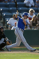 September 1 2008: Tommy Giles of the Inland Empire 66'ers during game against the Rancho Cucamonga Quakes at The Epicenter in Rancho Cucamonga,CA.  Photo by Larry Goren/Four Seam Images