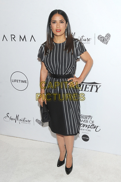NEW YORK, NY - APRIL 21: Salma Hayek Variety's Power of Women: New York Presented by Lifetime at Cipriano in New York City on April 21, 2017. <br /> CAP/MPI/JP<br /> ©JP/MPI/Capital Pictures