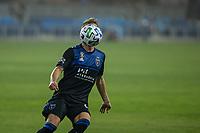 SAN JOSE, CA - SEPTEMBER 13: Jackson Yueill #14 of the San Jose Earthquakes controls the ball during a game between Los Angeles Galaxy and San Jose Earthquakes at Earthquakes Stadium on September 13, 2020 in San Jose, California.