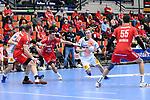 Magdeburgs Omar Ingi Magnusson (Nr.14) am Ball beim Spiel in der Handball Bundesliga, Die Eulen Ludwigshafen - SC Magdeburg.<br /> <br /> Foto © PIX-Sportfotos *** Foto ist honorarpflichtig! *** Auf Anfrage in hoeherer Qualitaet/Aufloesung. Belegexemplar erbeten. Veroeffentlichung ausschliesslich fuer journalistisch-publizistische Zwecke. For editorial use only.