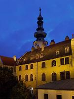 Turm des Michaeler Tor, Bratislava, Bratislavsky kraj, Slowakei, Europa<br /> Bratislava, Bratislavsky kraj, Slowakei, Europa<br /> Tower of Michaeler Gate, Bratislava, Bratislavsky kraj, Slovakia, Europe