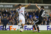 Son Heung-Min of Tottenham Hotspur in action during the UEFA Europa League match between Tottenham Hotspur and Qarabag FK at White Hart Lane, London, England on 17 September 2015. Photo by Andy Rowland.