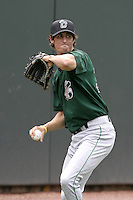 Clinton Lumberkings Josh Giles during practice before a Midwest League game at Fifth Third Field on July 18, 2006 in Dayton, Ohio.  (Mike Janes/Four Seam Images)