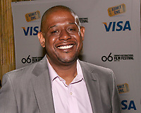 Visa Canada - Academy Award(R) nominee Forest Whitaker - Forest Whitaker on the red carpet of the Visa Screening Room, Toronto International Film Festival on Sept. 10, 2006.  Whitaker is nominated for an Academy Award(R) for best performance by an actor in a leading role for The Last King of Scotland. (CNW Group/Visa Canada)