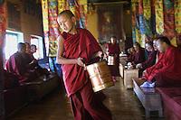 Monks at Diskit Monastery, Ladakh, India 2006