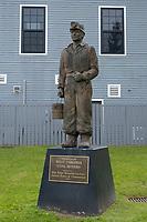 Beckley, West Virginia.  Beckley Exhibition Coal Miners Memorial, Erected 1994.