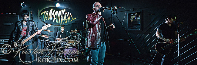 HURT perform at Tammany Hall in Worcester, Massachusetts on November 12, 2012