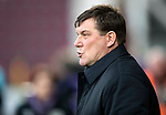 Hearts v St Johnstone…..14.12.19   Tynecastle   SPFL<br />Saints boss Tommy Wright<br />Picture by Graeme Hart.<br />Copyright Perthshire Picture Agency<br />Tel: 01738 623350  Mobile: 07990 594431