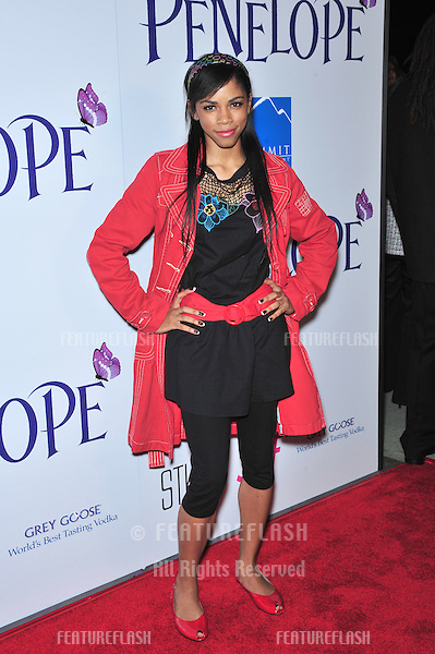"""Shanica Knowles at the Los Angeles premiere of """"Penelope"""" at the Directors Guild Theatre, West Hollywood..February 20, 2008  Los Angeles, CA.Picture: Paul Smith / Featureflash"""