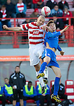 Hamilton Accies v St Johnstone..23.10.10  .Murray Davidson and Jim Goodwin.Picture by Graeme Hart..Copyright Perthshire Picture Agency.Tel: 01738 623350  Mobile: 07990 594431