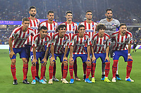 Orlando, FL - Wednesday July 31, 2019:  Atletico Madrid Starting XI during an Major League Soccer (MLS) All-Star match between the MLS All-Stars and Atletico Madrid at Exploria Stadium.