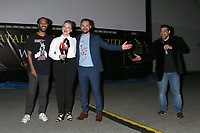LOS ANGELES - SEP 25:  Wes Craven Award Winners Jonathan Louis Lewis, Mary O'Neil, Buz Wallick; and Ron Truppa at the Catalina Film Festival Drive Thru Red Carpet, Friday at the Scottish Rite Event Center on September 25, 2020 in Long Beach, CA